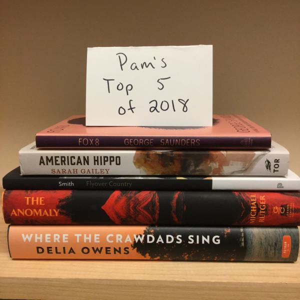 Pam's Top 5 Books of 2018